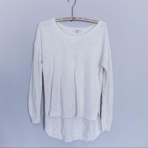 Madewell Cream Sweater